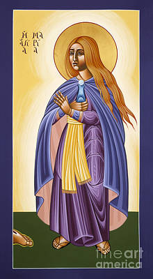 St Mary Magdalen Equal To The Apostles 116 Poster by William Hart McNichols