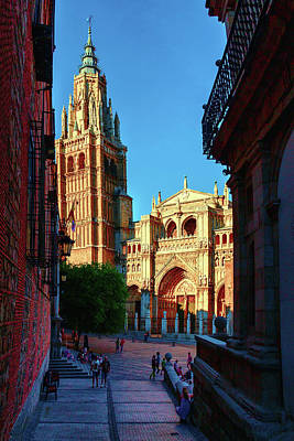 St Mary's Cathedral - Catholic Cathedral In Toledo, Chair Of The Primate Of Spain, The Main Cathedra Poster