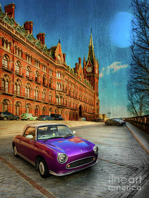 St. Pancras London Poster by Adrian Evans