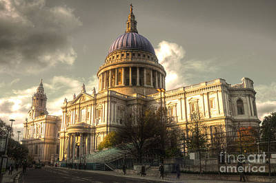St Paul's Cathedral Poster by Rob Hawkins
