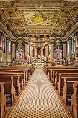 Poster featuring the photograph St Peter The Apostle Church Pa by Susan Candelario