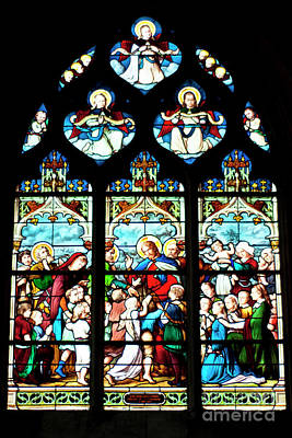 St. Severin Chuch Stain Glass Poster