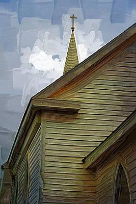 St. Teresa Bodega Bay Poster by Holly Ethan