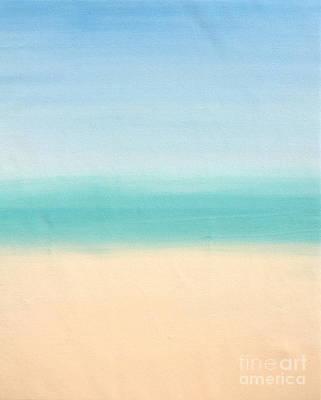 St Thomas #3 Seascape Landscape Original Fine Art Acrylic On Canvas Poster