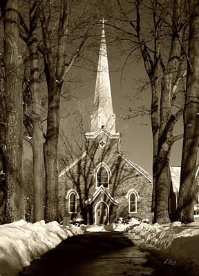 St. Thomas The Apostle Church Poster by Gordon Beck