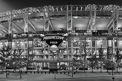 Stadium Black And White Poster by Frozen in Time Fine Art Photography