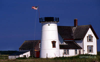 Stage Harbor Lighthouse Ma Poster