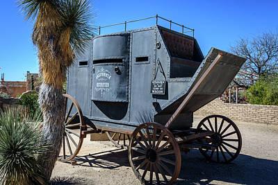 Stagecoach - Old Tucson Arizona Poster