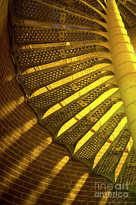 Poster featuring the photograph Staircase Light by John Rizzuto