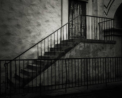 Stairs And Railings Poster