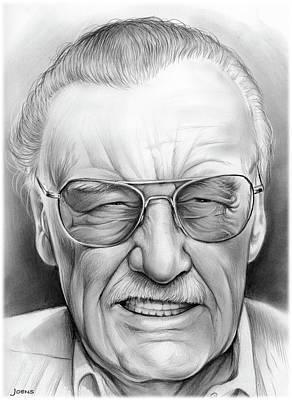 Stan Lee Poster by Greg Joens