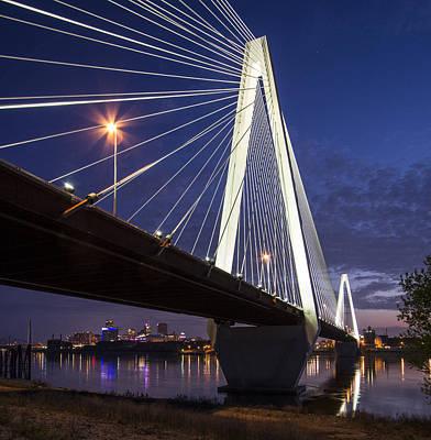 Stan Musial Bridge St Louis Poster