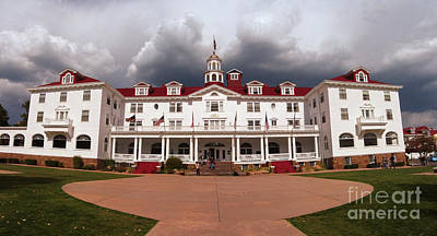 Stanley Hotel - Estes Park Colorado Poster by Donna Greene
