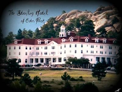 Poster featuring the photograph Stanley Hotel by Michelle Frizzell-Thompson