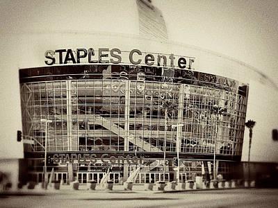 Staples Center Poster