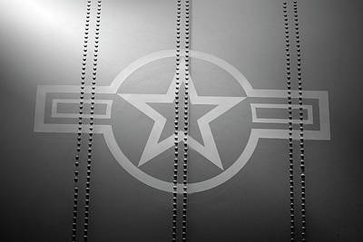 Star And Bars Poster by Brandon Griffin