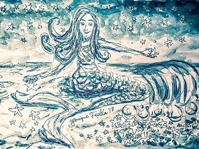 Star Bearer Mermaid Poster