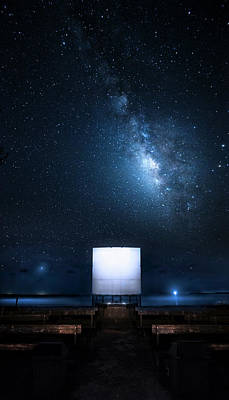 Poster featuring the photograph Star Cathedral by Mark Andrew Thomas