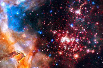 Star Cluster Westerlund 2 Space Image Poster