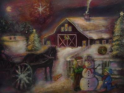 Star Of Bethlehem Poster by Regina Brandt