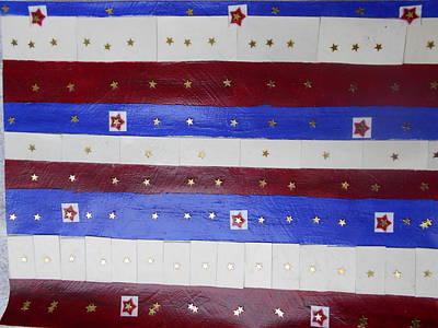 Star Spangled Banner Poster by Nancy Graham
