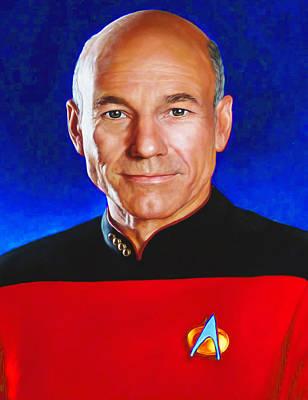 Star Trek 4c By Nixo Poster by Nicholas Nixo