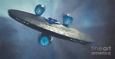 Enterprise Poster by Steven Parker