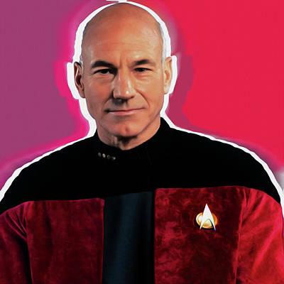 Star Trek Captain By Nixo Poster