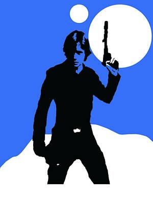 Star Wars Luke Skywalker Collection Poster