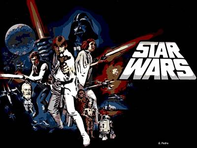 Star Wars Movie Poster Poster