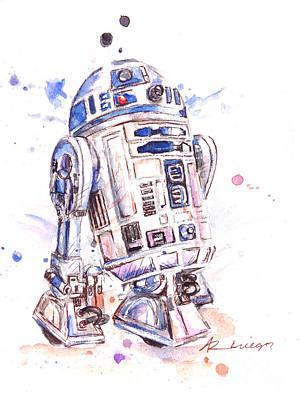 Star Wars R2-d2 Poster