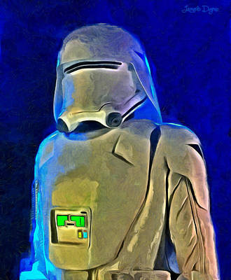 Star Wars Snowtrooper - Da Poster