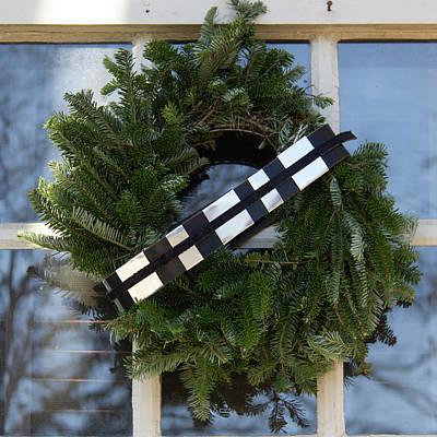 Star Wars Williamsburg Wreath 03 Poster by Teresa Mucha