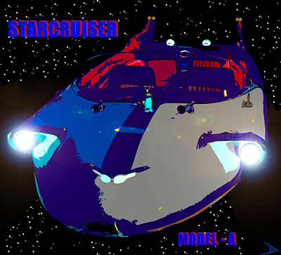 Starcruiser Model A Poster by David Lee Thompson