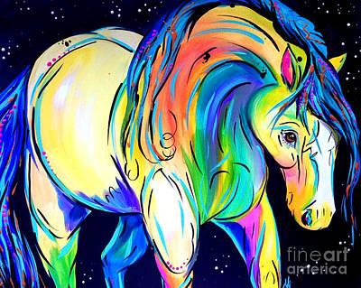 Stardust Pony Poster by Abbi Kay