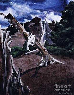 Stark Tree Poster by Wendy Galletta