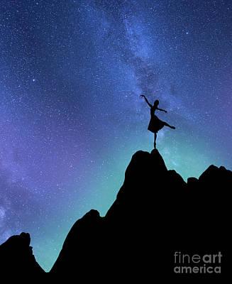 Starlight Ballerina Poster