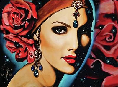 Starlight Rose Poster