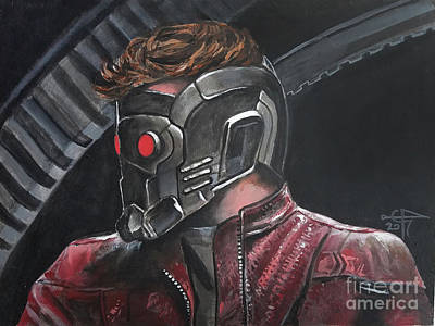 Starlord Poster by Tom Carlton