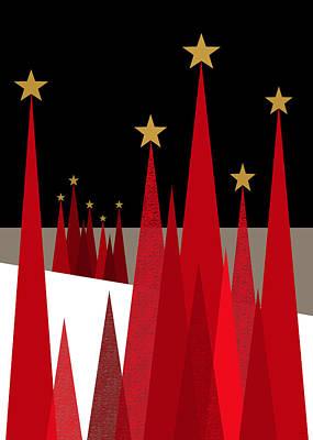 Stars At Night Poster