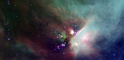 Stars In The Rho Ophiuchi Cloud Complex Poster by American School