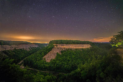 Poster featuring the photograph Stars Over Great Bend by Mark Papke