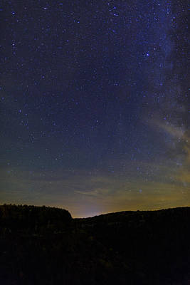 Stars Over Letchworth Poster