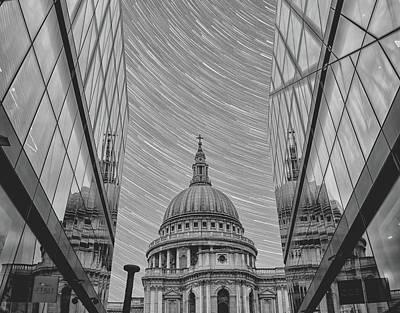 Stars Over St Pauls Poster