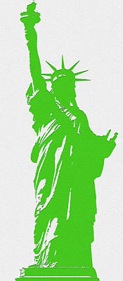 Statue Of Liberty No. 9-1 Poster