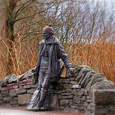 Statue Of Tom Weir Poster by Jeremy Lavender Photography