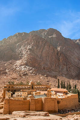 St.catherine's Monastery 2 Poster by Roy Pedersen