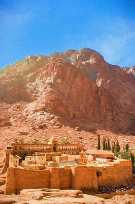 St.catherine's Monastery 3 Poster by Roy Pedersen