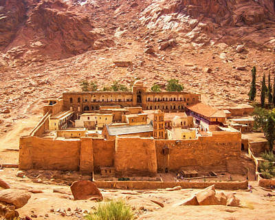 St.catherine's Monastery Poster by Roy Pedersen