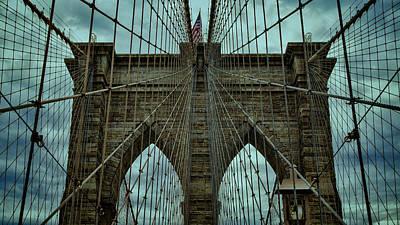 Steadfast - Brooklyn Bridge Poster